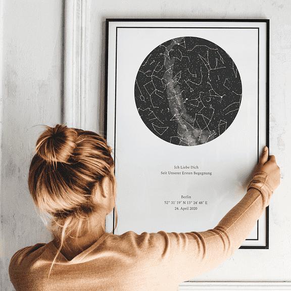 Sternenhimmelposter Poster Sternenhimmel